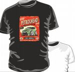 KOOLART PETROLHEAD SPEED SHOP GREEN FORD FOCUS RS Childrens kids Youth t-shirt